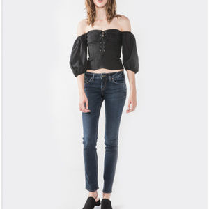 Silver Jeans Elyse Straight 28